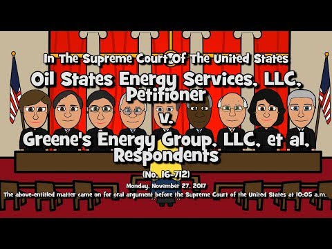 Oil States Energy Services LLC v. Greene's Energy Group, LLC (SCOTUS-Toons)