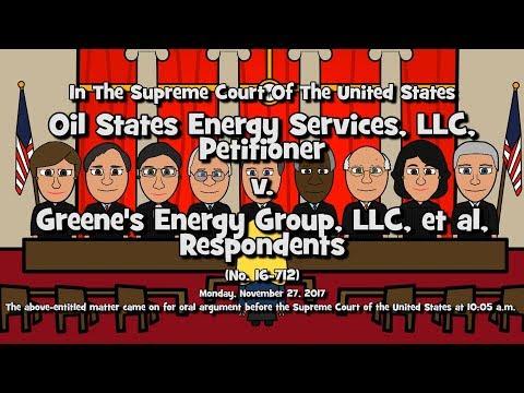 Oil States Energy Services LLC v. Greene's Energy Group, LLC (SCOTUS-Toons)