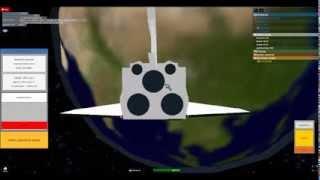 Atlantis STS-135 Roblox Re-creation