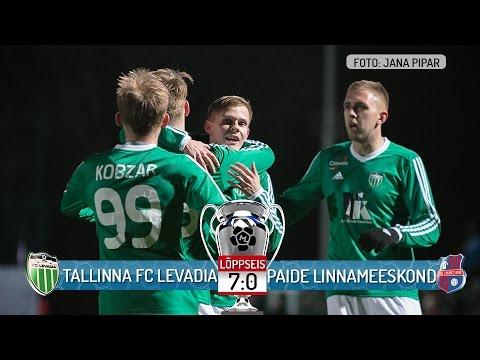 3. voor 2017: Tallinna FC Levadia - Paide Linnameeskond 7:0 (6:0)