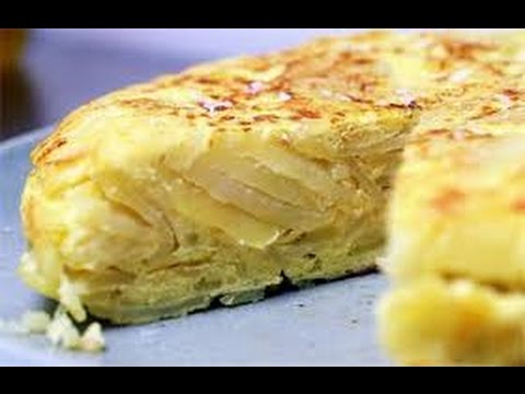 Tortilla de patatas al horno recetas faciles youtube - Como se hace horno de lena ...
