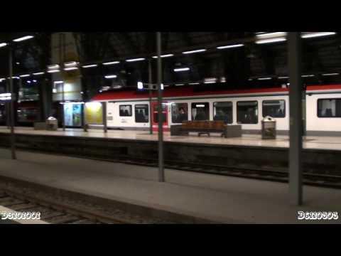 regional train at the Frankfurt train station