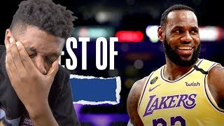 I MISS the NBA!! The BEST Lakers Plays of the 2020 Season!