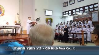 [Kitô Vua] Thánh vịnh 22 - Thái Nguyên