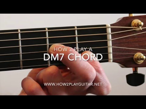 How To Play Dm7 Chord On Acoustic Guitar D Minor 7 Chord