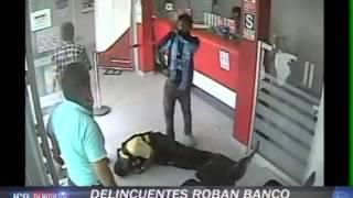 DELINCUENTES ROBAN BANCO DE LA NACION EN NASCA