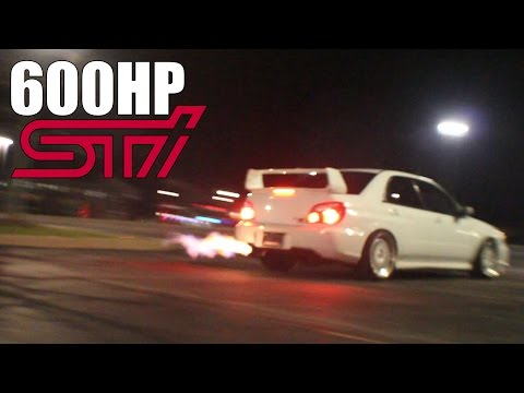 Meeting Up with a Subaru STI Spitting Flames Constantly!