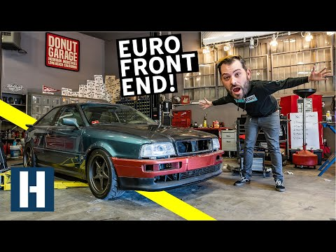Scotto's Audi Coupe Quattro gets a Euro Facelift + Rusty Bolt Battles