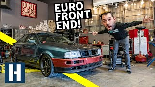 Scotto's Audi Coupe Quattro gets a Euro Facelift + Rusty Bolt Battles
