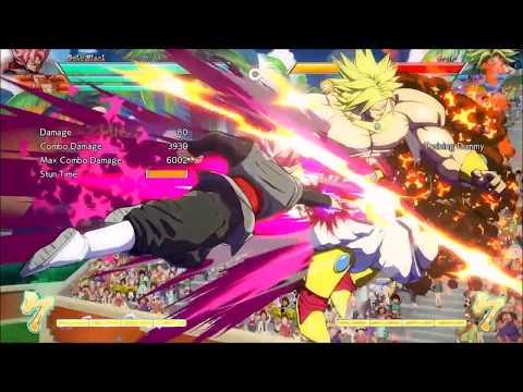 Goku black god slicer stabby link, frieza disc link scraps DBFZ