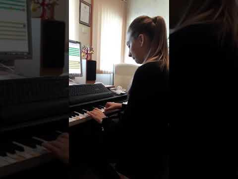 "Soft Mozart Recital May 2018. Elizabeth (14) plays L. Beethoven ""Ode to Joy"""