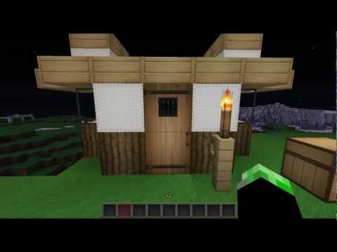 Minecraft como hacer una casa sencilla doovi for Casa moderna tutorial facil de hacer