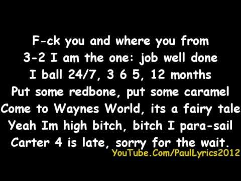 Lil Wayne - Racks [ Lyrics On Screen ]
