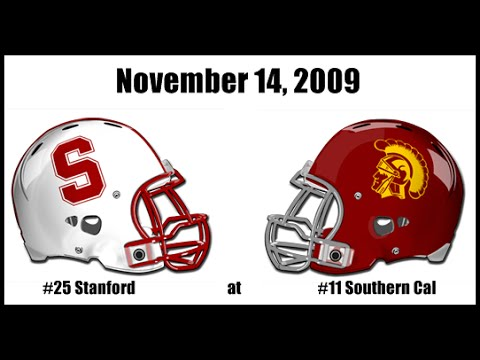 2009 #25 Stanford at #11 USC College Football