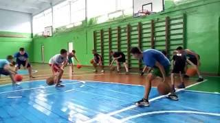 Тренировка по баскетболу спортивной школы Басарабяска 2002-2005 г.р.