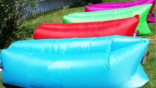 Tips to easily use the Air Inflatable Hangout Sofa, Sleeping Bag, Beach Lounge,