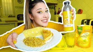 MANGIO CIBO GIALLO PER 24 ORE *EATING ONLY YELLOW FOOD FOR 24 HOURS* - Valentina Lattanzio