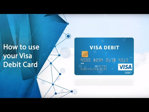 How To Use Your Visa Debit Card