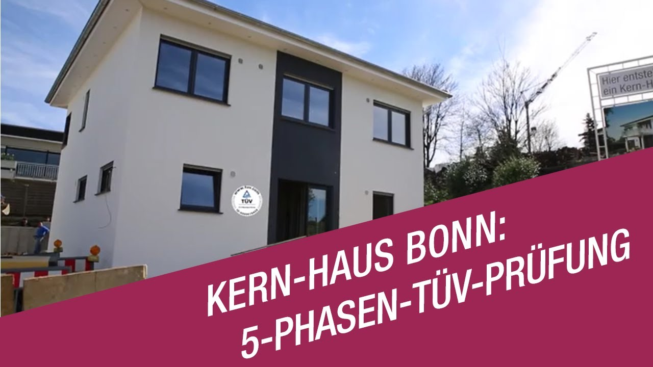 kern haus bonn 5 phasen t v pr fung auf der baustelle youtube. Black Bedroom Furniture Sets. Home Design Ideas