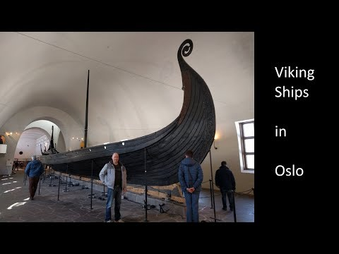 Viking ships in Oslo