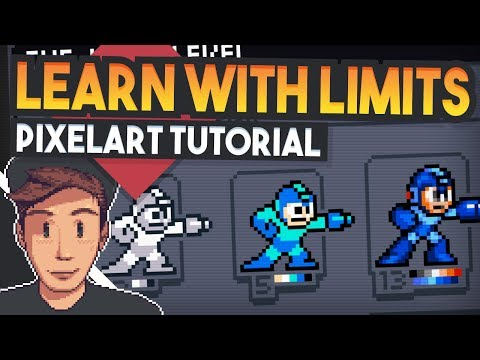 Learn PixelArt Fast With Limits (Pixelart Tutorial for beginners)