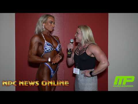 2018 NPC Jr. Nationals Women's Figure Class F Winner Meghan Santa Barbara