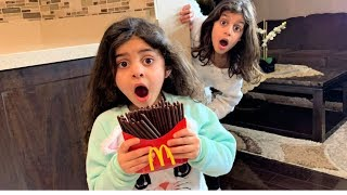 Magic McDonald's Happy Meal! Turns into real chocolate  French Fries