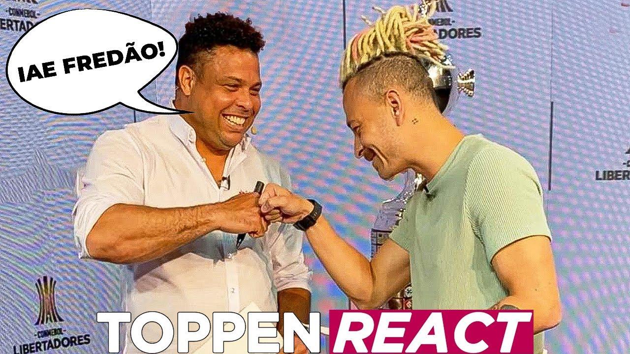Ronaldo Fenômeno e Fred - o grande encontro!