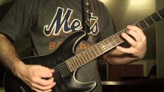Megadeth good Mourning Black Friday Guitar Lesson Part 1