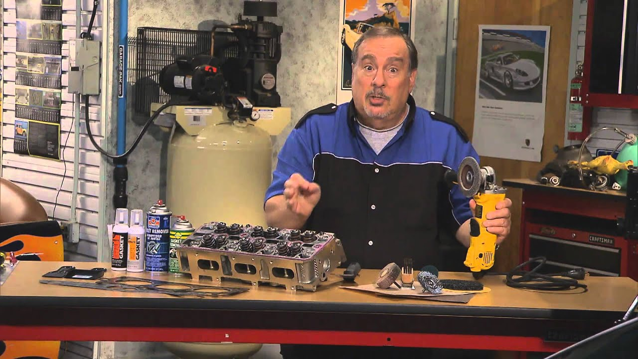 Cylinder Head Gasket >> Removing Old Head Gasket & Gaskets on Aluminum Auto Parts ...