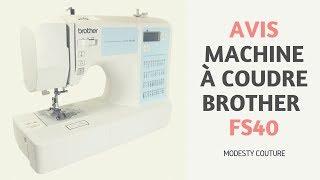 L'article sur le blog : https://www.blog.modestycouture.com/brother-fs40 Dans cette vidéo, je vous explique quelle est selon moi la meilleure machine à coudre ...