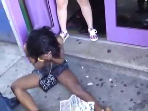 ブラジル女が TKOされた