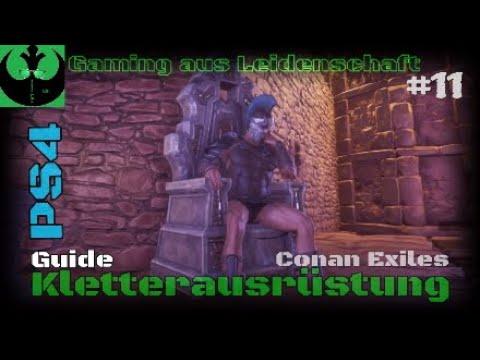 Conan Kletterausrüstung : Conan exiles ps guide kletterausrüstung erlernen leicht