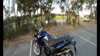 BMW F650GS (800cc) Walk Around & Review
