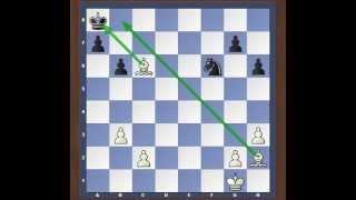 Шахматные задачи.  Мат в 1 ход.  Урок №2