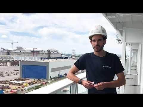 Dylan Faribault : Travailler à la construction du plus grand paquebot du monde