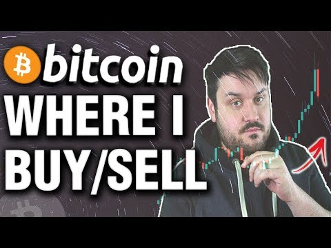 Bitcoin - Where I'm Buying/Selling