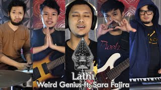 Weird  Genius ft. Sara Fajira - Lathi | METAL COVER by Sanca Records