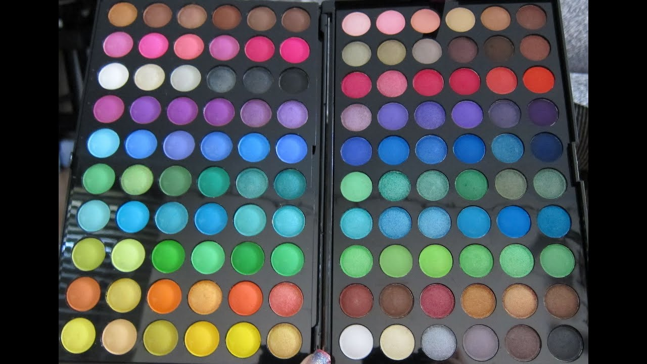 BH Cosmetics: First Edition - 120 Color Eyeshadow Palette