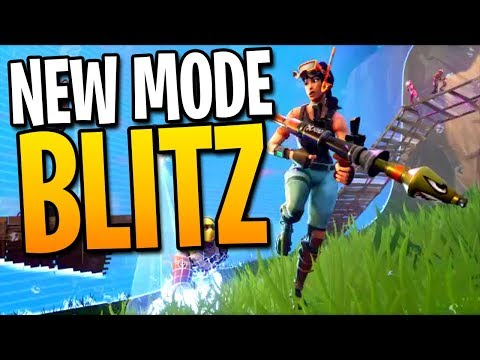 NEW FORTNITE BLITZ MODE GAMEPLAY! - Fortnite: Battle Royale Blitz Squads