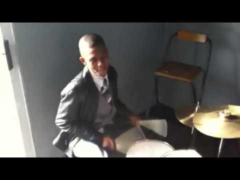 THEM drummer shed
