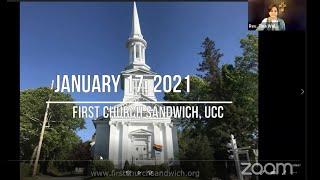 January 17, 2021 Sunday Worship