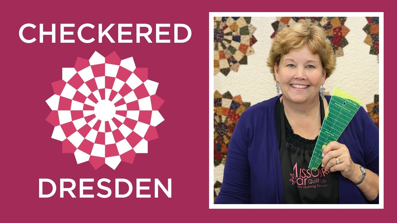 Make an Easy Checkered Dresden Quilt with Jenny Doan of ...