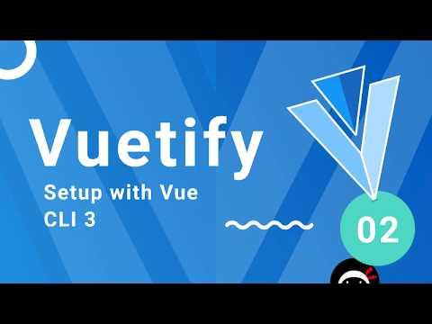 Vuetify Tutorial #2 - Setting Up Vuetify - YouTube