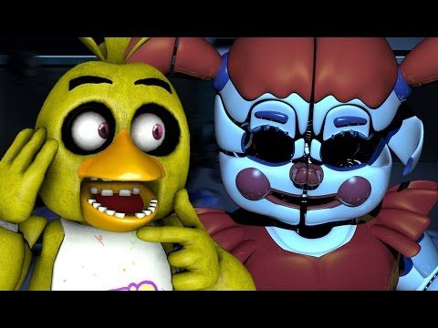 CHICA PLAYS: Sister Location (Night 5) || GETTING THE SCOOP ON CIRCUS BABY!