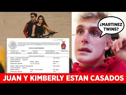 Juan de Dios y Kimberly SI ESTAN CASADOS! | Jake Paul ACUSADO POR Martinez Twins