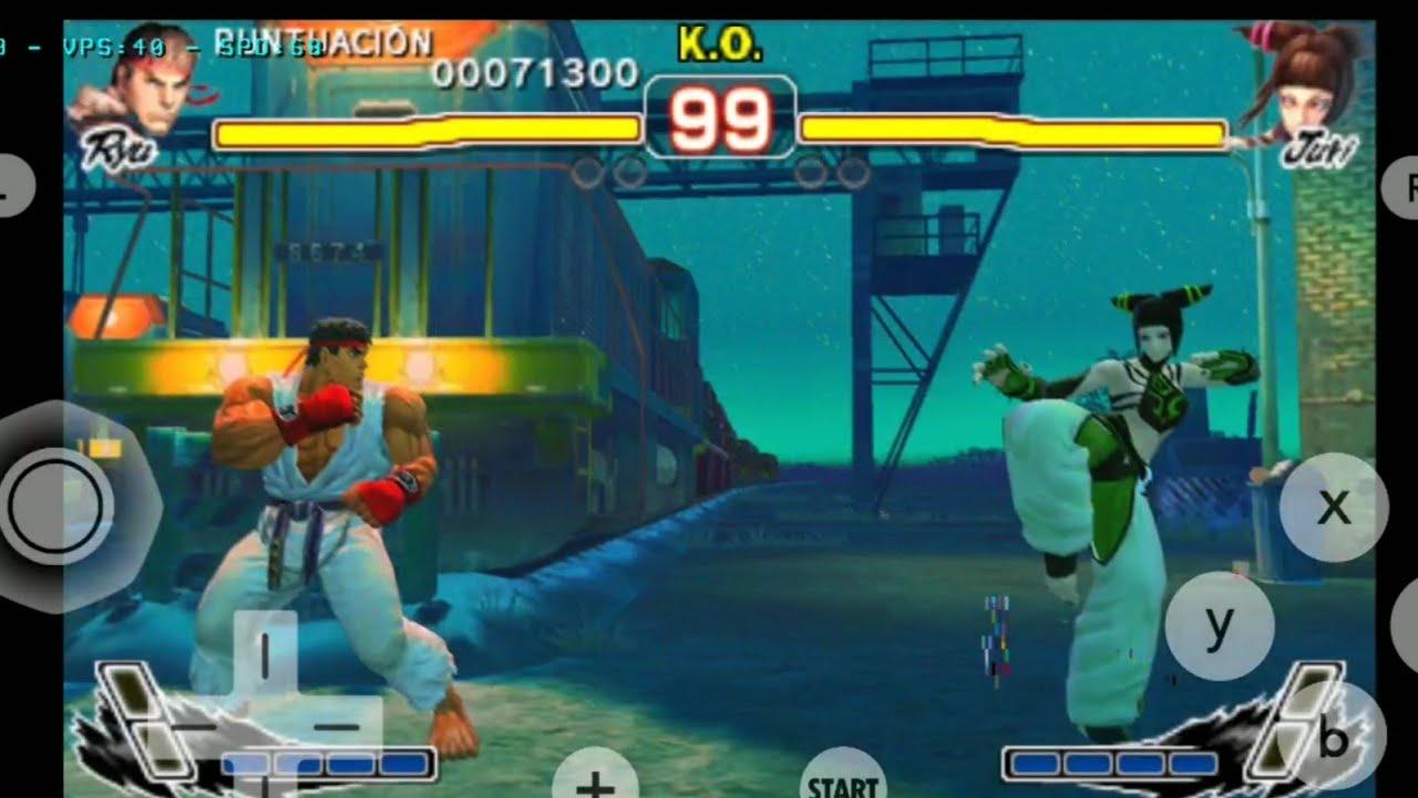 (New Citra MMJ Android) Street Fighter IV 3D (3DS Emulator Test 09/09 Build)
