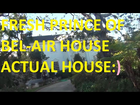 Fresh Prince of Bel-Air Mansion 2015