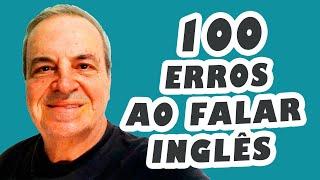 "14 ""100"" mistakes in English speaking - Improving English conversation - Esl English lesson"