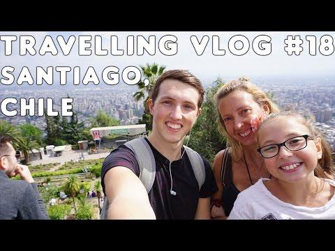 Walking through clouds | Santiago, Chile | Travelling Vlog #18